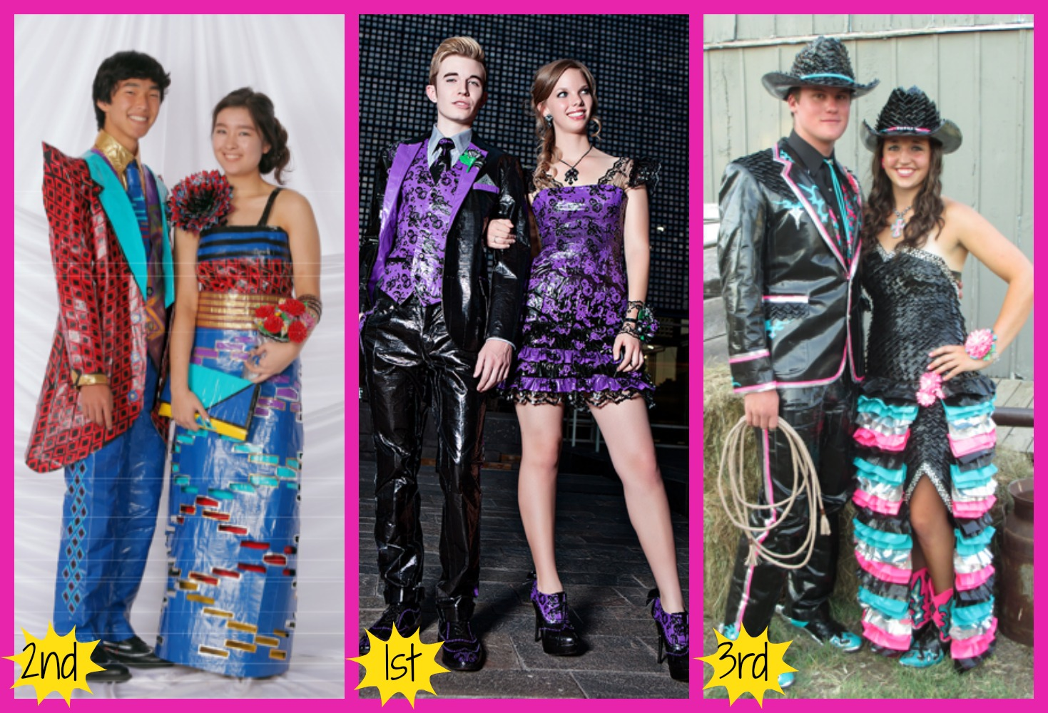 Duct tape prom dress 2013