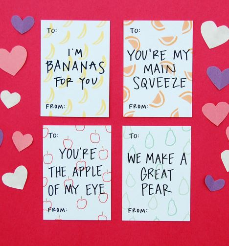 the 10 cutest valentines we've seen this year. give 'em to, Ideas