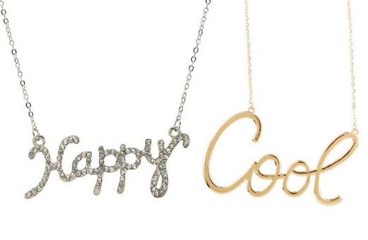 detail mini silver love necklace gold letters custom dallasandcarlos alpha word