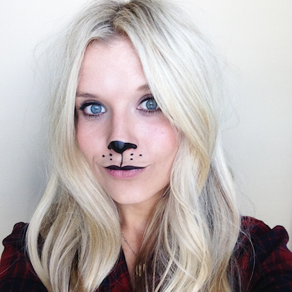 amp up your costume with these cute halloween makeup diys