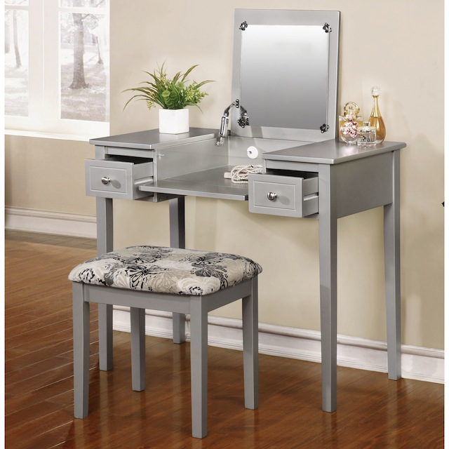 Beau Unfinished Vanity Table Foter International Concepts. International  Concepts Vanity Bench Com. Study In Style With These 8 Adorable Desks  Girlslife