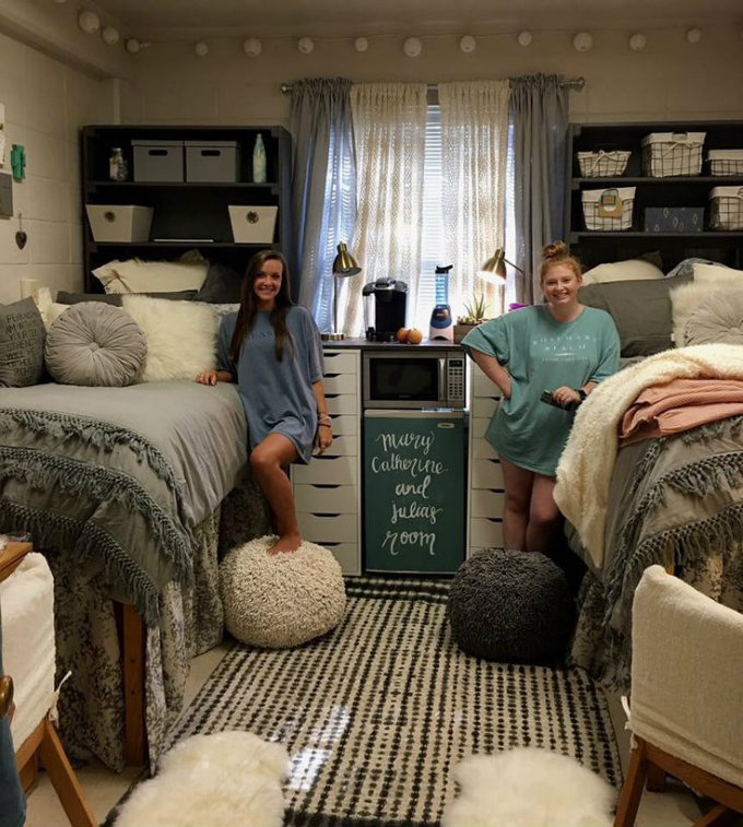 Decorating Tips To Steal From These Super Extra Dorm