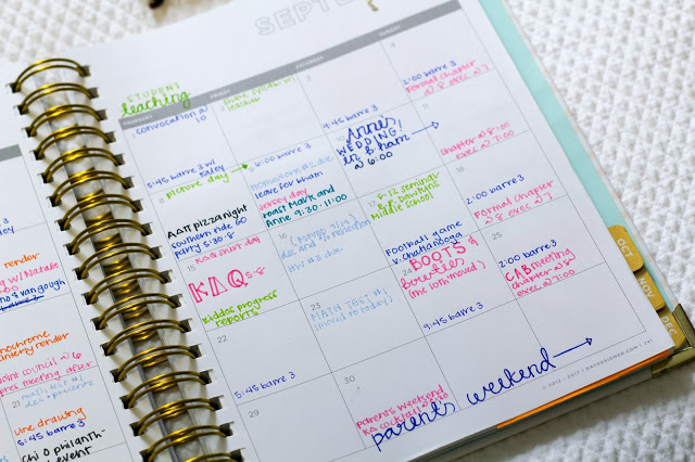 9 planner tricks to make this your most organized year yet for Color coding planner