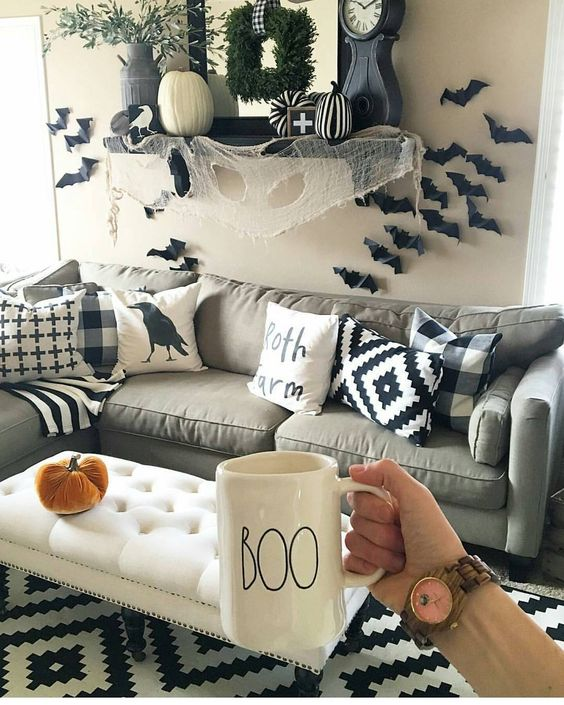 Turn Your Room Into A Haunted But Cute House With This Inspo