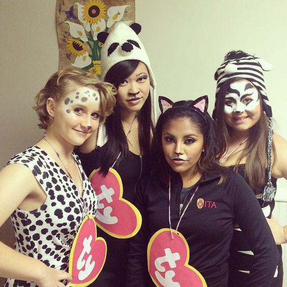 putting on some animal ears bunny mouse cat etc is probably the easiest and most classicly girl halloween costume