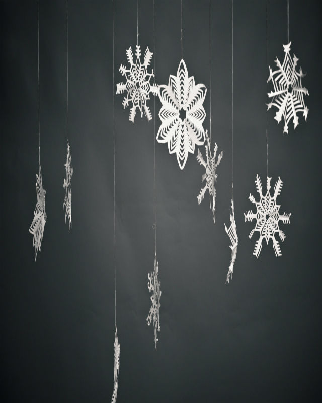 Hang Some Snowflakes From The Ceiling You Can Diy These Or They Ll Look Super Pretty Hanging Your Cieling