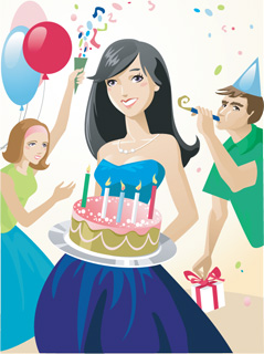flirting signs for girls birthday cake clip art pictures