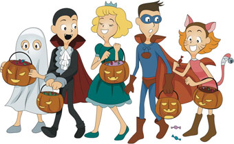 Image result for costume party cartoon