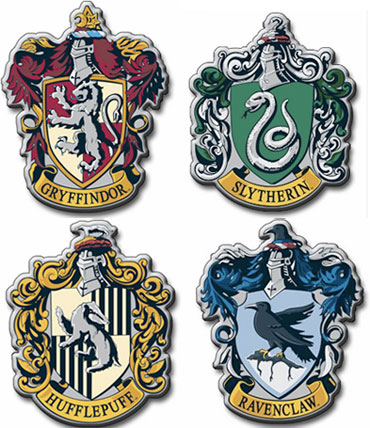 graphic relating to Harry Potter House Badges Printable known as Craft your particular Hogwarts badge - GirlsLife