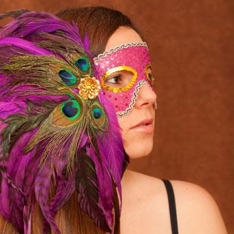 Make Your Own Mardi Gras Mask Girlslife