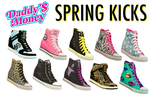 5d2986897fe9 Spring shoe trends  5 ways to kick it in style...and win a Daddy s Money  shoe spree!
