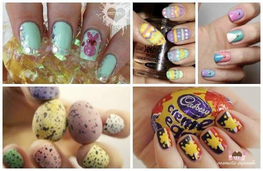 Peep Out Your Nails Easter Mani Inspo From Pinterest Girlslife