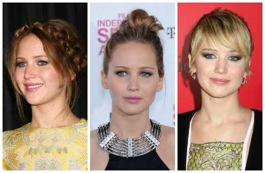 Girl On Fire 3 Holiday Hairstyles Inspired By Jennifer Lawrence