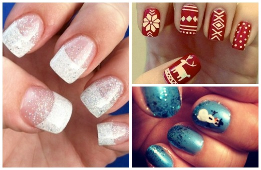 Pinspiration winter nail art you can totally master girlslife at that means a new slew of holiday themed nail art weve cracked the codes on some standout pinterest pins and are sharing the step by step guides prinsesfo Image collections