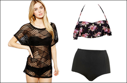 286b8a3f8aa6 Be beach-ready  Our fave swimsuit and cover-up combos - GirlsLife