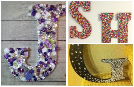 Captivating How To: DIY Bejeweled Letters Thatu0027ll Make Your Room Sparkle Nice Design