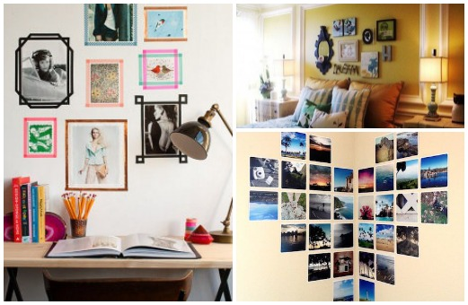 Wall art: 5 ways to decorate your room with photos