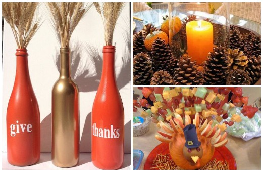 Diy Thanksgiving Centerpieces For Your Table Girlslife