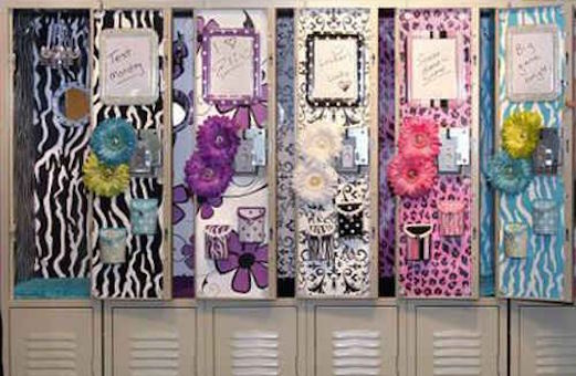 cute ways to decorate your locker for the holidays - Christmas Locker Decorations