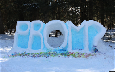 6 promposals that are just too cute to handle girlslife the last of this girls snow day blues melted away after her crush spelled out prom in her front yard how did he even do this ccuart Gallery