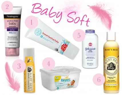 7 days infant foodstuffs