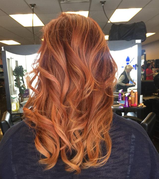 Hervorragend We're *obsessed* with pumpkin spice hair - GirlsLife RQ49
