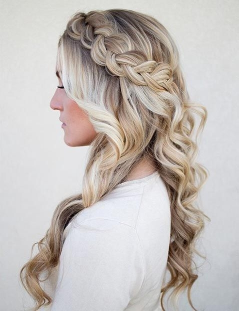 Your guide to the prettiest homecoming hair , GirlsLife