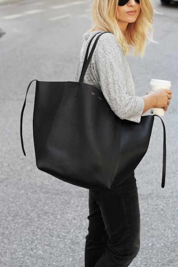 c9890398d567 We just talked about all those wonderful layered pieces to keep you ready  for any weather. Pair that with a big bag to hold all your ...