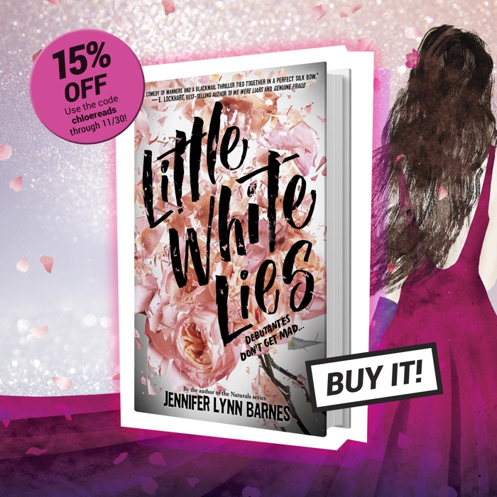 5bcc33afdc20 Little White Lies! It s a page-turning mystery about a quick-witted teenage  girl by the best-selling author of the Naturals series